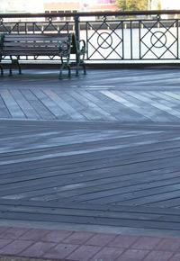 ipe wood boardwalk