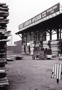 1962 J Gibson McIlvain Lumberyard in Maryland
