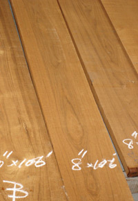 FEQ Teak boards