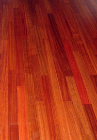 Jatoba Floor (aka Brazilian Cherry)