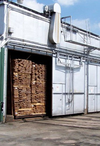 kiln drying wood