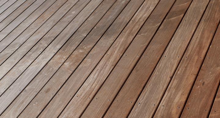 decking boards installed
